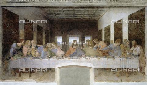 CAL-F-008204-0000 - Last Supper, Leonardo da Vinci, Cenacle of Santa Maria delle Grazie, Milan
