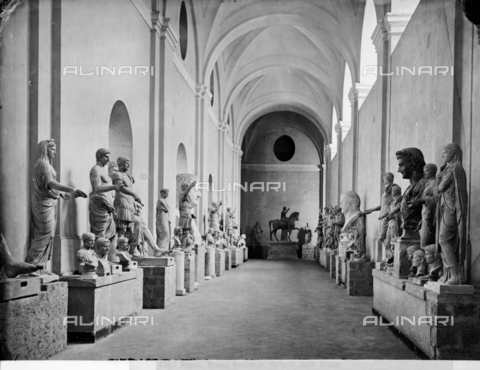 CGA-F-004903-0000 - Galleria del Museo Archeologico Nazionale di Napoli - Data dello scatto: 1890-1900 ca. - Archivi Alinari, Firenze
