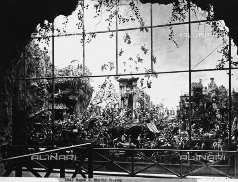 CGA-F-005042-0000 - Presepe donato da Michele Cuciniello al Museo di San Martino di Napoli - Data dello scatto: 1890-1900 ca. - Archivi Alinari, Firenze