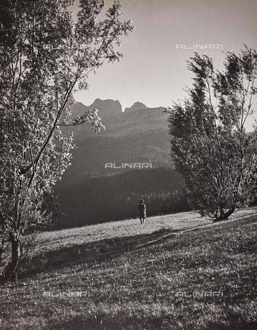 CGD-F-000022-0000 - Paesaggio montano - Data dello scatto: 1948 - Raccolte Museali Fratelli Alinari (RMFA)-donazione Corinaldi, Firenze
