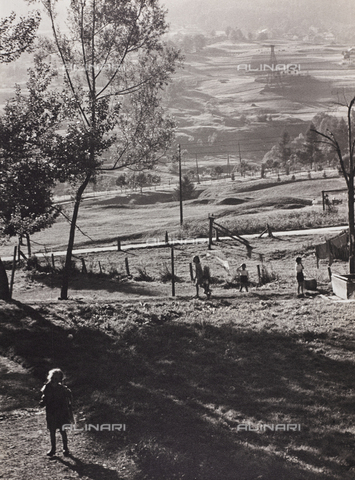 CGD-F-000321-0000 - Country landscape - Date of photography: 1955-1965 - Fratelli Alinari Museum Collections-Corinaldi Donation, Florence