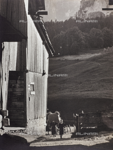 CGD-F-000787-0000 - Paesaggio montano - Data dello scatto: 1955-1965 - Raccolte Museali Fratelli Alinari (RMFA)-donazione Corinaldi, Firenze