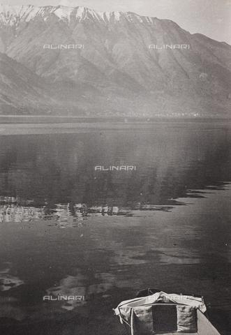 CGD-F-001126-0000 - Mountain lake - Date of photography: 1955-1965 - Fratelli Alinari Museum Collections-Corinaldi Donation, Florence