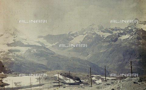 CHA-F-AU0550-0000 - Winter landscape in Switzerland - Data dello scatto: 1910-1920 - Archivi Alinari, Firenze