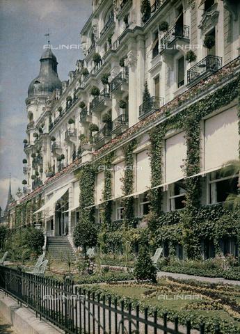 CHA-F-AU0740-0000 - A motel in Lucerne - Data dello scatto: 1910-1920 ca. - Archivi Alinari, Firenze