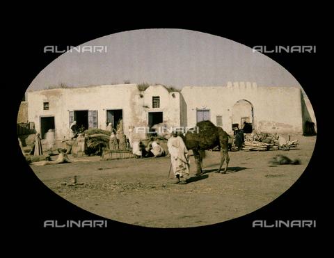 CHA-F-AU1118-0000 - African dwelling places - Data dello scatto: 1910-1920 ca. - Archivi Alinari, Firenze