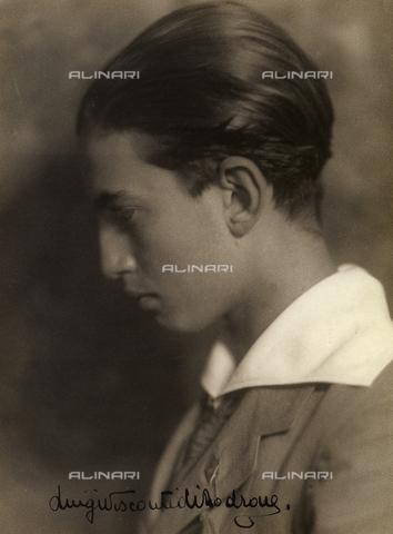 CMA-F-000181-0000 - Portrait of Luigi Visconti di Mondrone - Data dello scatto: 1920 -1925 ca. - Archivi Alinari, Firenze