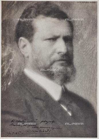 CMA-F-001026-0000 - The painter Beppe Ciardi (1875-1932) - Data dello scatto: 1926 - Archivi Alinari, Firenze