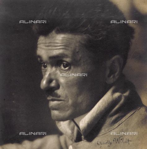 CMA-F-001027-0000 - Portrait of the Milanese sculptor, Adolfo Wildt - Data dello scatto: 1915-1929 ca. - Archivi Alinari, Firenze