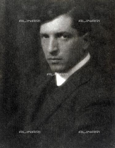 CMA-F-001033-0000 - Half-length portrait of the painter Guido Marussig - Data dello scatto: 28/11/1923 - Archivi Alinari, Firenze
