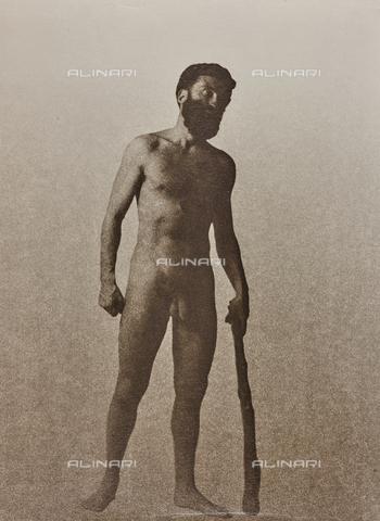 CMA-F-001041-0000 - The Italian aviator Guido Keller (1892-1929) nude portrait - Data dello scatto: 1925-1929 - Archivi Alinari, Firenze