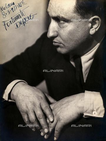 CMA-F-001577-0000 - Portrait of the Futurist painter Fortunato Depero taken on March 8, 1933 - Data dello scatto: 08/03/1933 - Archivi Alinari, Firenze