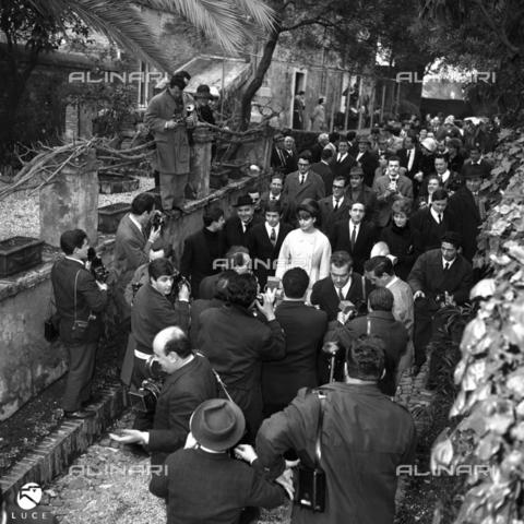 DIL-S-00092D-0084 - Matrimonio di Fabrizio Capucci con Catherine Spaak - Istituto Luce/Gestione Archivi Alinari, Firenze
