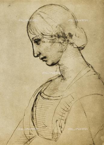 DIS-F-000050-0000 - Study for a Magdalena, Gabinetto dei Disegni e delle Stampe, Uffizi Gallery, Florence