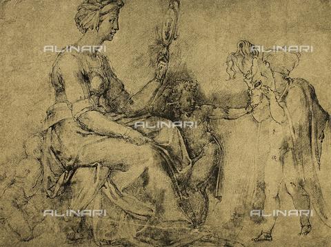 DIS-F-000143-0000 - Vanity (?), Gabinetto dei Disegni e delle Stampe, Uffizi Gallery, Florence