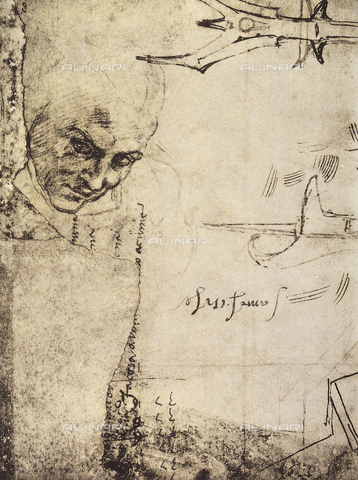 DIS-F-000425-0000 - Studies of different figures, Gabinetto dei Disegni e delle Stampe, Uffizi Gallery, Florence