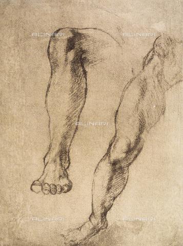 DIS-F-001046-0000 - Study of legs, Casa Buonarroti, Florence