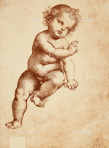 DIS-F-001076-0000 - The Christ Child, Raphael, Gallerie dell'Accademia, Venice