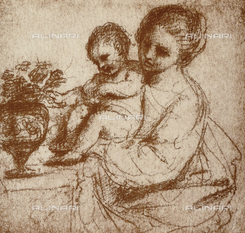 DIS-F-001116-0000 - Study for a Madonna and Child, Gallerie dell'Accademia, Venice