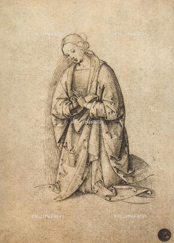 DIS-F-001124-0000 - Adoring Virgin, Gallerie dell'Accademia, Venice