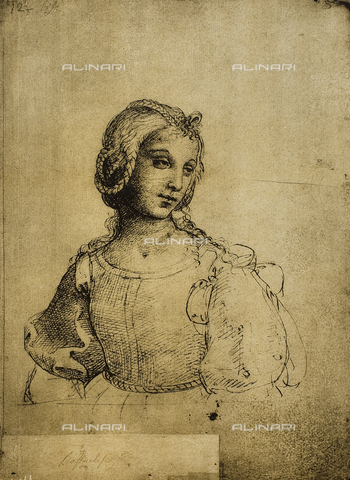 DIS-F-001140-0000 - Study of a woman, Gallerie dell'Accademia, Venice