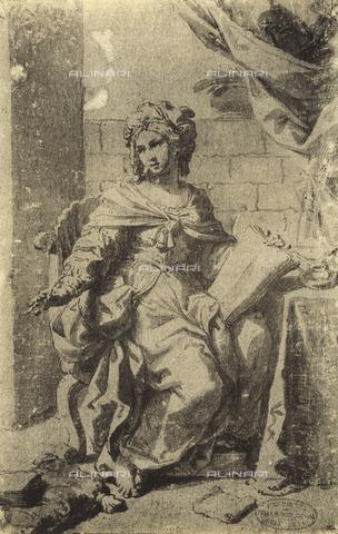 DIS-F-001153-0000 - Sibyl, Gallerie dell'Accademia, Venice