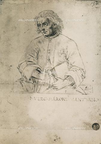 DIS-F-001171-0000 - Ritratto del poeta latino Virgilio, disegno, Gallerie dell'Accademia, Venezia