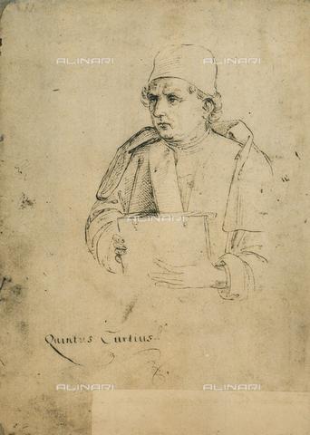 DIS-F-001172-0000 - Quinto Curzio Rufo, disegno, Gallerie dell'Accademia, Venezia