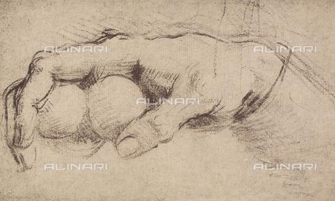 DIS-F-001273-0000 - A hand, Andrea del Sarto, The Louvre, Paris