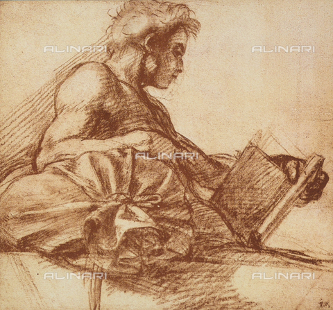DIS-F-001274-0000 - St. John the Evangelist, Andrea del Sarto, The Louvre, Paris
