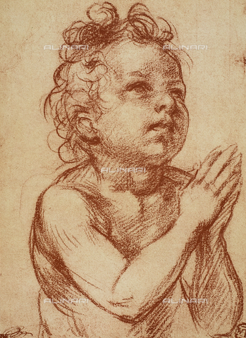 DIS-F-001286-0000 - Small boy praying, Andrea del Sarto, The Louvre, Paris