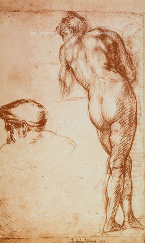 DIS-F-001665-0000 - Nude study, British Museum, London