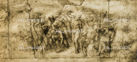 DIS-F-001675-0000 - Drawing by Michelangelo, British Museum, London