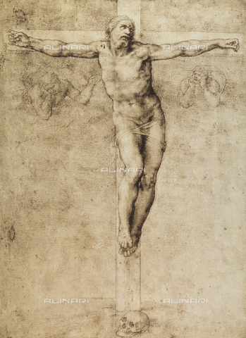 DIS-F-001678-0000 - Study for a crucifixion, British Museum, London
