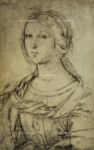DIS-F-001737-0000 - Portrait of a Florentine noblewoman, Raphael, British Museum, London