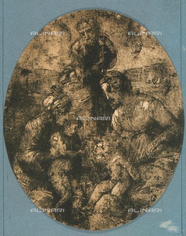 DIS-F-001745-0000 - Sacra famiglia con San Giovannino, Raffaello, British Museum, Londra