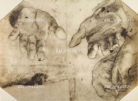 DIS-F-001760-0000 - Study of hands, British Museum, London