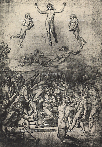 DIS-F-003973-0000 - Study for the Transfiguration of Christ, Graphische Sammlung, Albertina, Vienna