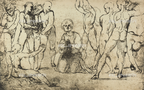 DIS-F-003976-0000 - Il martirio di Santo Stefano, Graphische Sammlung, Albertina, Vienna