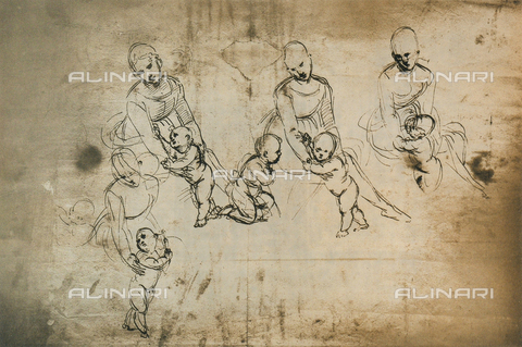 DIS-F-003985-0000 - Study for the Madonna of Belvedere, Graphische Sammlung Albertina, Vienna