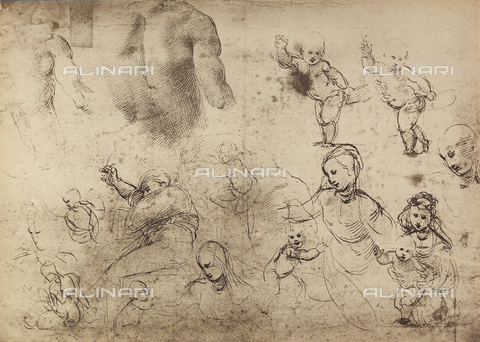 DIS-F-003988-0000 - Madonnas and Children, Graphische Sammlung, Albertina, Vienna