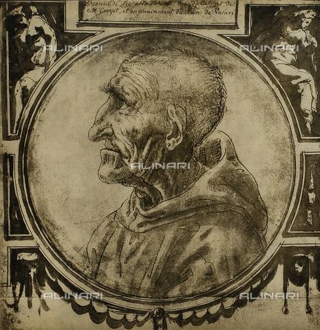 DIS-F-004041-0000 - Ritratto del Savonarola, Graphische Sammlung, Albertina, Vienna