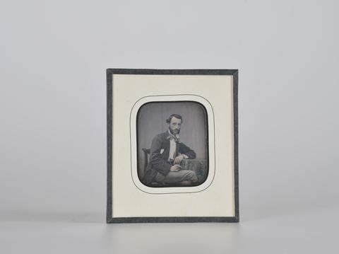 DVQ-F-000103-0000 - Ritratto maschile, dagherrotipo - Data dello scatto: 1850 ca. - Raccolte Museali Fratelli Alinari (RMFA), Firenze