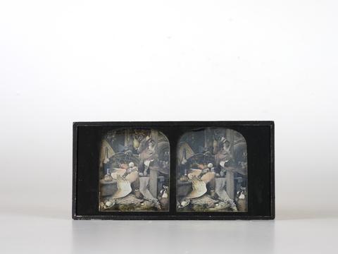 DVQ-F-002480-0000 - Still Life with duck; stereoscopic daguerreotype