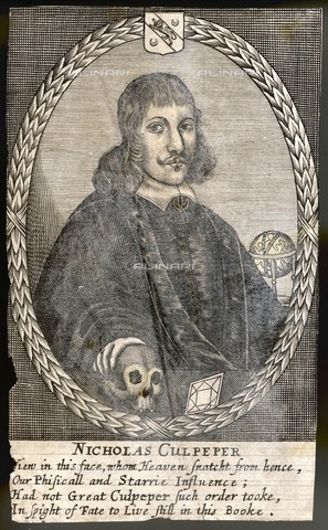 EVA-S-001003-4727 - Nicholas Culpeper, herbalist and English doctor (1616-1654) - © Mary Evans / Alinari Archives