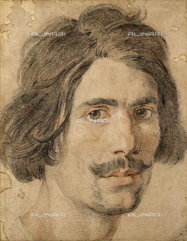 EVA-S-001050-0282 - Autoritratto di Gian Lorenzo Bernini, disegno, Ashmolean Museum, University of Oxford - Ashmolean Museum / © Mary Evans / Archivi Alinari