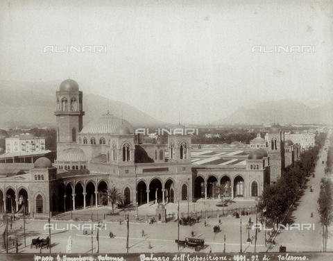 FBQ-A-006081-0053 - Palazzo dell'Esposizione di Palermo - Data dello scatto: 1891-1892 - Raccolte Museali Fratelli Alinari (RMFA), Firenze