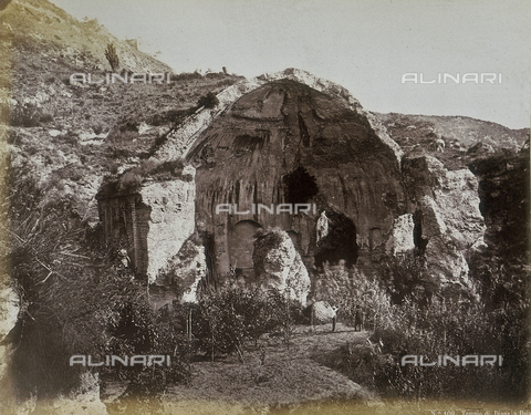 FBQ-A-006084-0039 - Temple of Diana in Baia - Data dello scatto: 1865 ca. - Archivi Alinari, Firenze