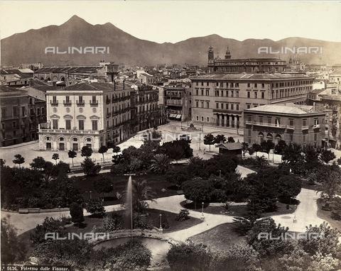 FBQ-A-006106-0002 - View of Palermo from Palazzo delle Finanze - Data dello scatto: 1880 ca. - Archivi Alinari, Firenze