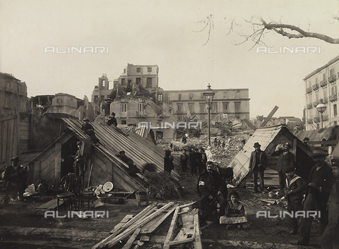 FBQ-A-006140-0014 - Buildings destroyed in Messina after the earthquake of 1908 - Data dello scatto: 1908 - Archivi Alinari, Firenze